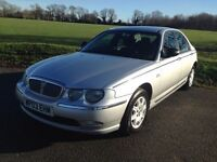 ROVER 75 BMW DEISEL 2003 VERY NICE CAR WITH A NEW MOT not 320d, a4, passat, vectra, mondeo