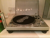 Gemini PT 2400 Vinyl Turntable - Orfton Concorde Pro needles worth £130 & Flight Case!
