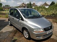 Fiat Multipla | 1.9 | Manual | Diesel | 6 seater (3 front)