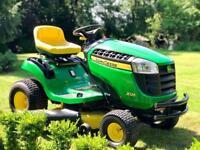 "John Deere X125 Ride On Mower - 42"" Deck - Lawnmower - Countax/ Kubota"