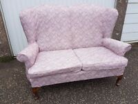 Retro Vintage Parker Knoll Settee - 2 Seater Sofa