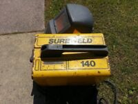 Sure Weld 140 Electric Arc Welder and Full Ultra Mask