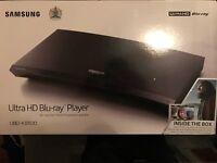 Brand New Samsung ultra Hd 4K Blu-Ray Player , UBO K85000 Rrp £269.99