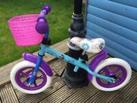Frozen Balance Bike