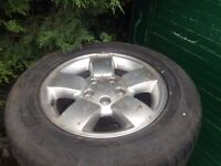 JEEP wheels set of four with tyres £180 ono can deliver local