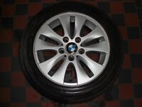 "BMW 1 Series 16"" Alloys (4 No.) with Run Flat Tyres 205/55V R16"