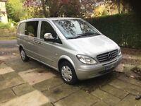 MERCEDES VITO 111 CDI COMPACT SWB DUALINER 2007 Silver Manual 5 Seats £3995 No VAT Private Sale