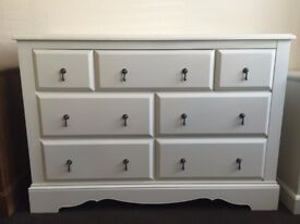 Next Isabella 3+4 Chest of Drawers - New - Ivory