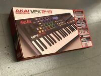 Akai MPK249 Midi Controller and Keyboard - New, boxed and unopened