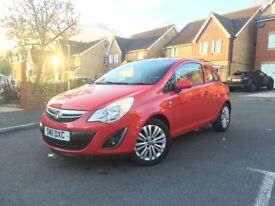 2011 Vauxhall Corsa 1.2 Excite 3dr - Petrol, Red, Manual
