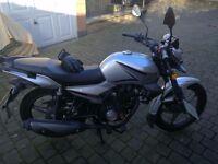 Occasion, brand new motorbike