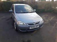 Very low mileage silver vauxhall corsa breeze 2005 998cc 3 door hatchback, valid MOT and road tax