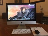 iMac 21.5 inch. Excellent condition.