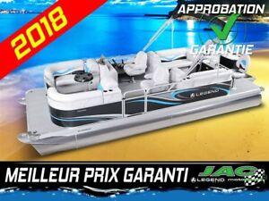 2018 Legend Boats Ponton Splash Plus FishTail Mercury 25 ELPT **