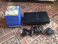 Sony PlayStation 2 / PS2 outfit with games