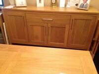 Long sideboard for sale in excellent condition, stores a lots
