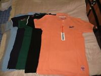 New Superdry polo shirts with tag