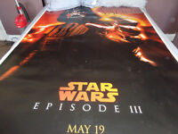 STAR WARS SUPER RARE 6 TEASER POSTERS FROM EPISODE 3
