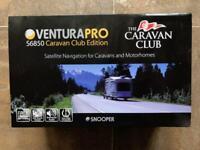 VenturaPro satellite navigation for caravans and motorhomes