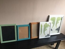 5 large picture frames for revamp