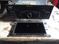 Audi A5 CD player head unit with screen
