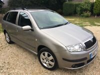 £30 tax,full Skoda history 2 lady owners,Skoda fabia bohemia 1.4tdi estate.new clutch,new mot.
