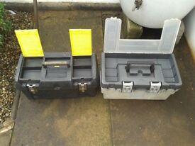 tool boxes x 2