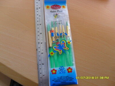 Royal & Langnickel Big Kid's Choice DELUXE ROUND 6pc Brush Set BK606