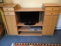 Beech tv storage unit