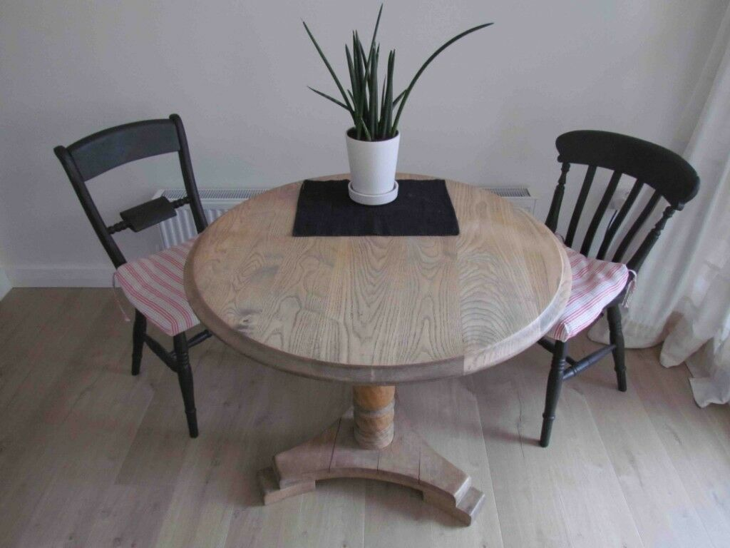 Round Wooden Dining Table In Putney London Gumtree