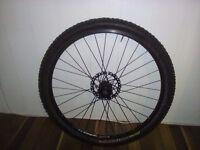 "26"" Bike front wheel ALEXRIMS"
