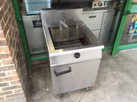 RESTAURANT GAS FRYER CATERING COMMERCIAL FAST FOOD TAKE AWAY KITCHEN CAFE KEBAB CHICKEN SHOP