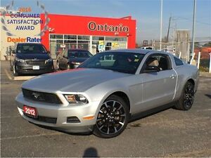 2012 Ford Mustang V6**PREMIUM**6 SPEED MANAUL**HEATED SEATS**BLU