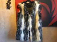 Jumpo ladies faux fur Geilt Sz 10 used one time £5