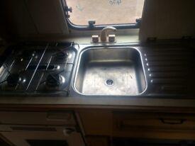 Caravan kitchen unit narrow