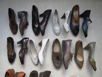 Job Lot Womens vintage shoes Car Boot Market Stall lot 33 pairs