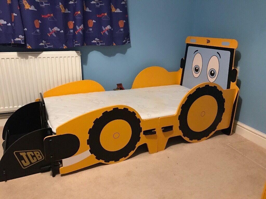Toddler Digger Bed