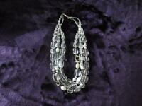 Silpada White Glass Necklace Less than 1/2 price