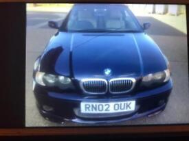 Bmw325i 2.5 petrol m sport f/s/h clean car 1 year mot