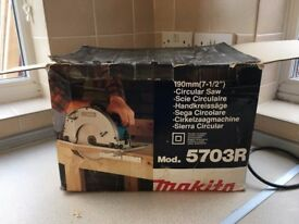 Makita Circular saw 5703R, USED