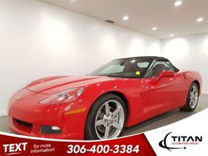 2007 Chevrolet Corvette Convertible|Auto|6.0L|400HP|RED