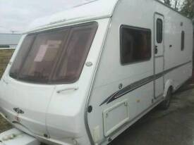 Swift challenger 500 fixed bed 2006 touring caravan