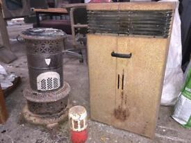Vintage valor parfin heaters