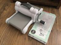 Big shot cutting embossing machine crafts bow making card making, used for sale  County Durham