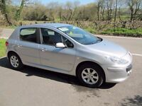 SUPERB UNMARKED 2007 PEUGEOT 307 1.4S, 5-DR, LOW INSURANCE, 50 MPG, LOW MILES, PART-EXCHANGE WELCOME
