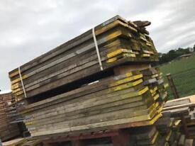 Scaffold boards used