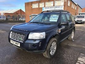 2007 LANDROVER FREELANDER TD4 XS MODEL
