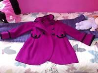 5/6 year old girls coat