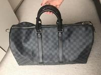 Stylish Louis Vuitton keepall 50 travel bag!