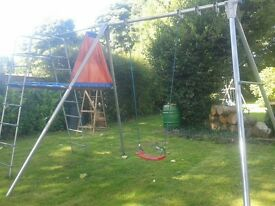 children's swing /climbing frame.